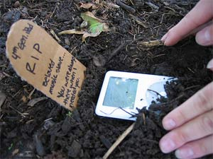 iPod roto