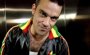 Robbie Williams: extraterrestres, venid a mí