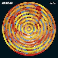 caribou-swim