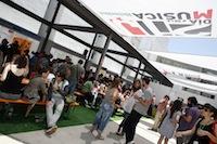 Dia de la musica Heineken 2010: Mercadillo