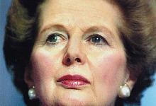 Margaret Thatcher1