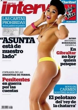 Claritzel De La Voz Se Desnuda En Interviú Jenesaispopcom