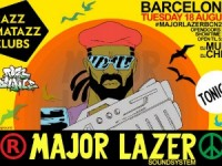 major lazer BCN