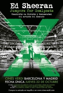 Regalamos entradas para el documental de Ed Sheeran