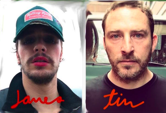James Franco versiona a los Smiths con Andy Rourke de los Smiths