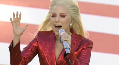 gaga-nationalanthem