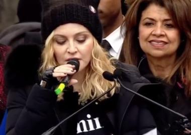 Madonna, Janelle Monáe, Cher y Alicia Keys, en la Marcha de la Mujer contra Trump