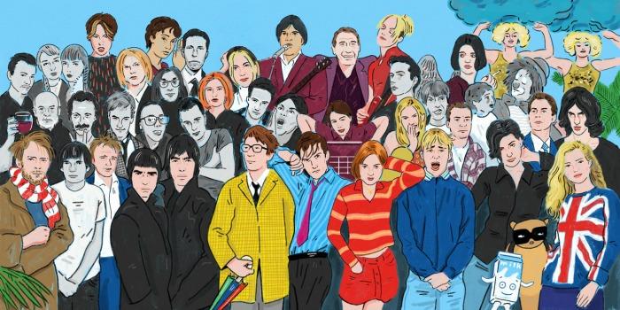 Resultado de imagen de radiohead brit pop