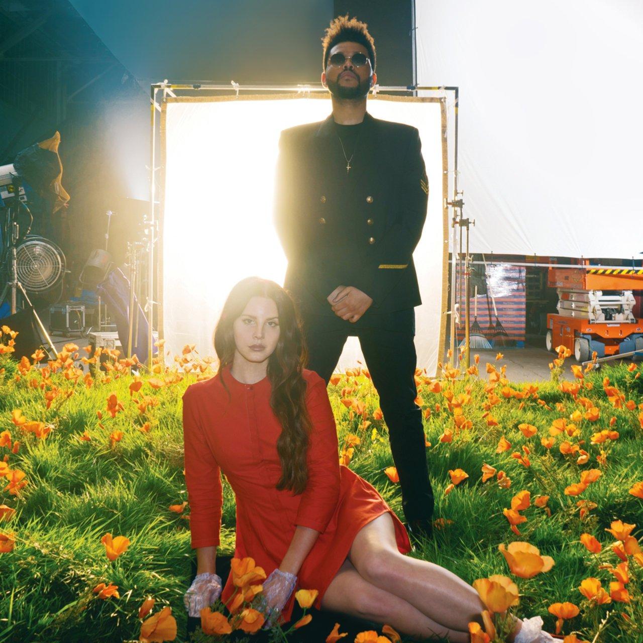 Resultado de imagen de Lana Del Rey The Weeknd lust for life