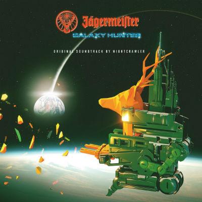 Regalamos 2 vinilos de colores para 'Jägermeister Galaxy Hunter' de Nightcrawler