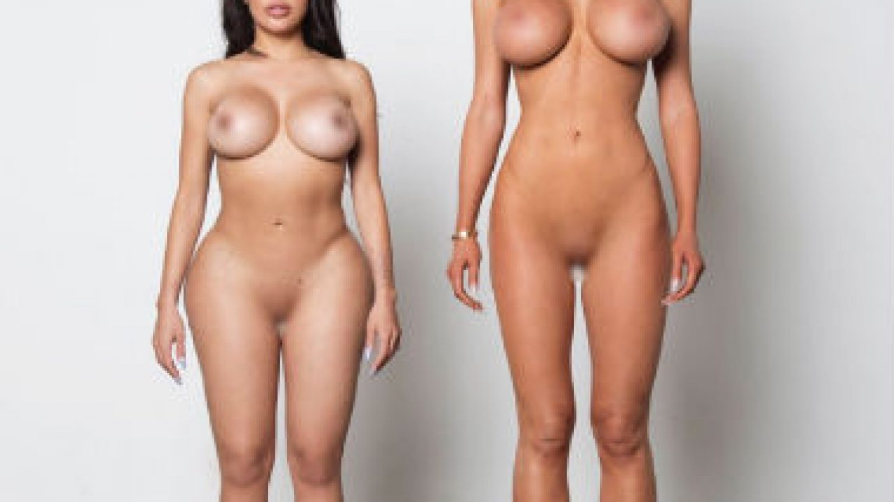 Kanye West Desnuda A Una Suerte De Kim Kardashian En La Nueva