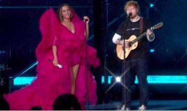 a5b7c5b0c Beyoncé y Ed Sheeran han actuado tanto juntos como por separado este  domingo en el evento Global Citizen en Johannesburgo