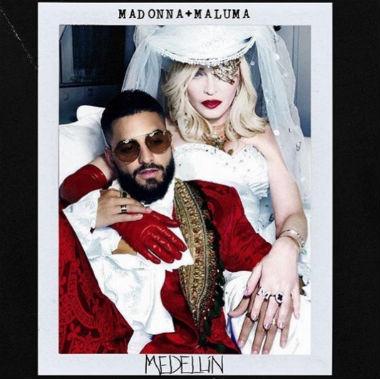 Descargar nuevo single Madonna junto a Maluma, 'Medellín', para este miércoles