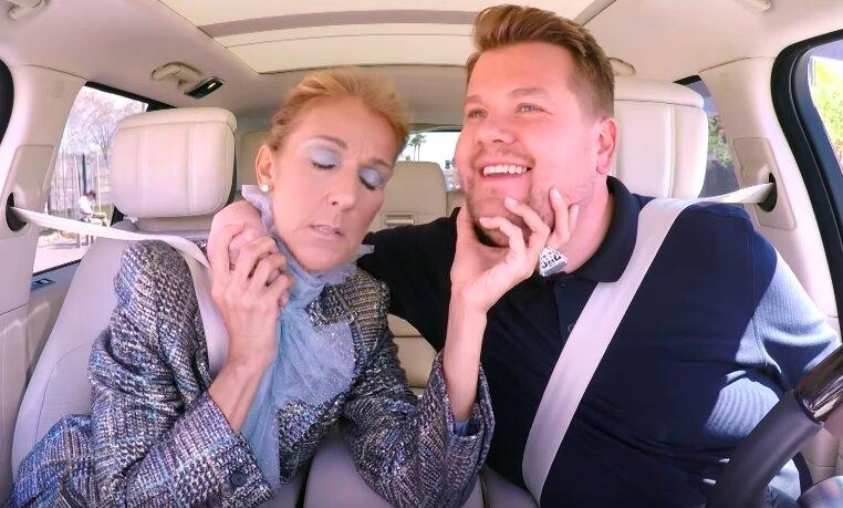 Celine Dion estuvo en el Carpool Karaoke de James Corden