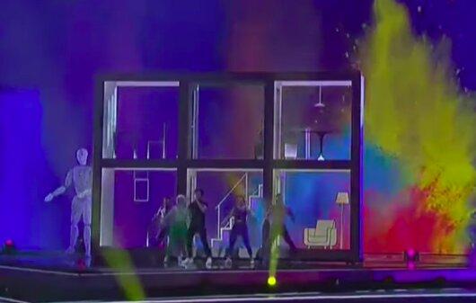 Eurovisión 2019: el incómodo momento de Miki Nuñez en la primera semifinal