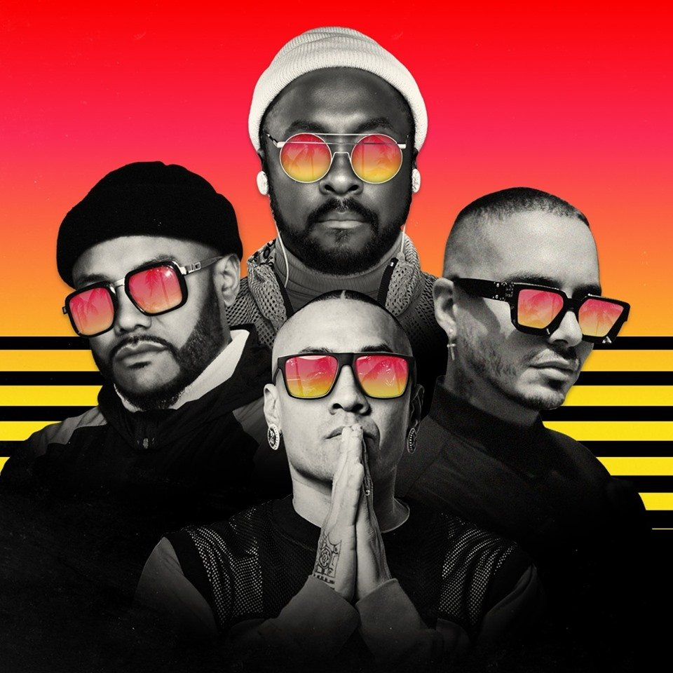 J Balvin y Black Eyes Peas lanzaron 'Ritmo'